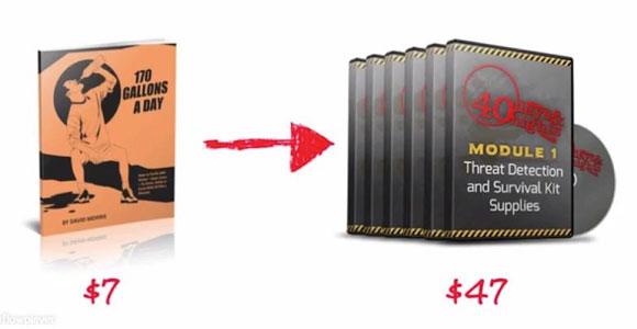 Купившие front-end продукт в 10 раз охотнее покупают основное предложение