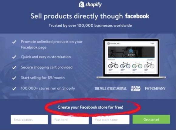 Создайте свой магазин в Facebook прямо сейчас!