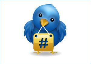 Используйте в твитах релевантные хэштеги