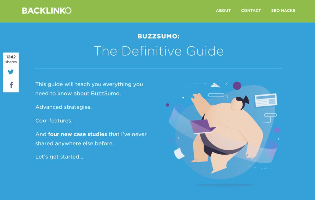 руководство по использованию BuzzSumo