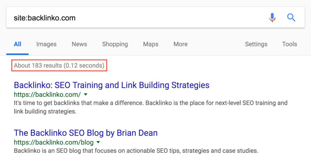 Google - поисковая выдача